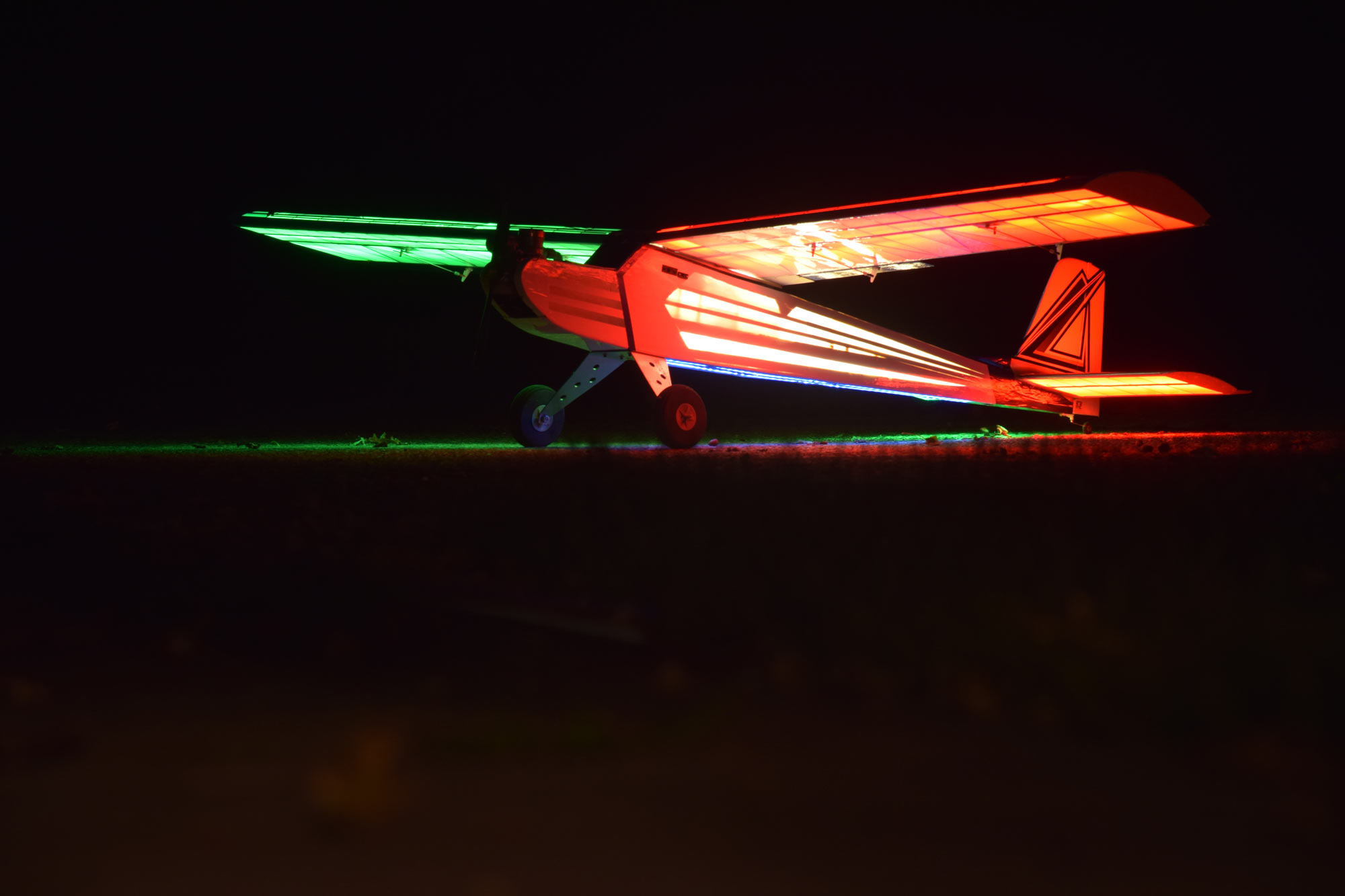 RC Plane LED Lighting