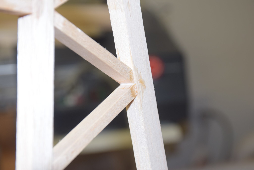 Wood Glue in Joints